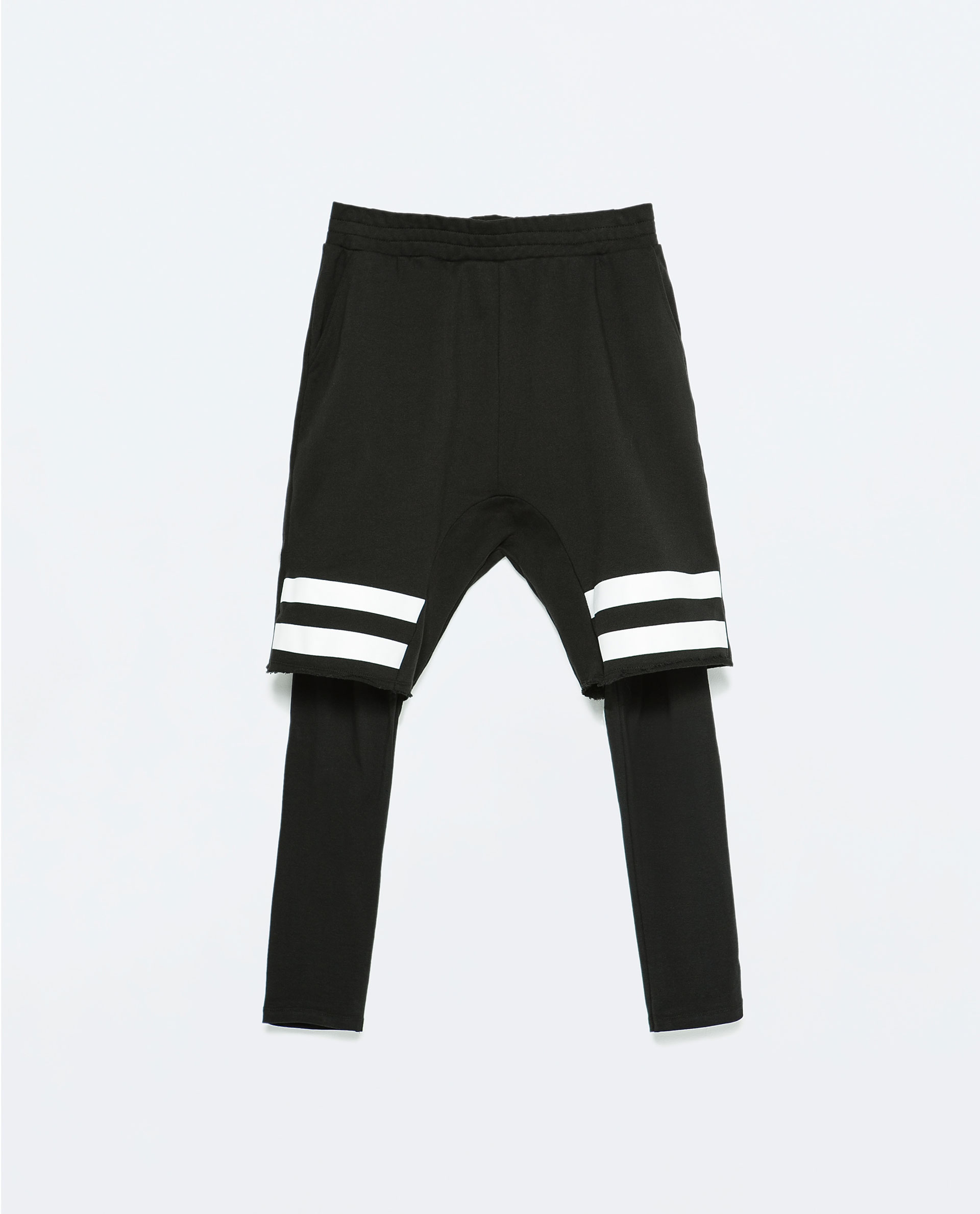 striped shorts with leggings trousers man sale