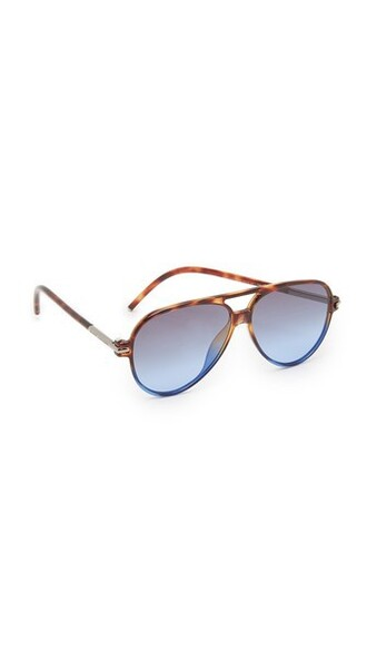 sunglasses aviator sunglasses blue grey