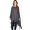 Rome fringe cape by michael lauren
