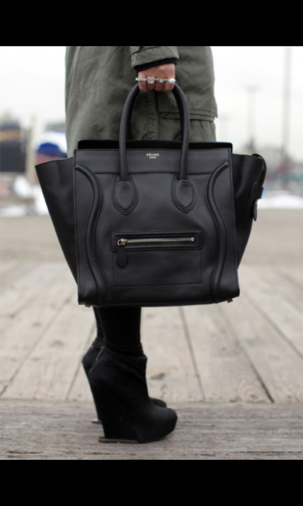 bag black bag ring