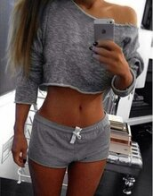tights,grey,gray hoodie,gray crop hoodie,cropped,crop,crop tops,crop pullover,long sleeves,knitwear,cotton,sexy,sexy crop top,sexy cropp sweater,sexy sweater,activewear,grey sweater,fitness,yoga,yoga top,joggers,jogging top,casual,casual top,casual set,moraki,blouse,jumpsuit,romper,shorts,28719,t-shirt,top,gray crop top,cropped pullover,long sleeve crop top,cotton top,digga grey sweatshirt,sexy fitness clothing,jogging suit