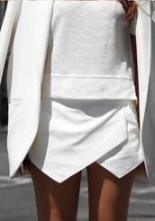 skirt,skorts,white skort,wrap skirt,icifashion,ici fashion