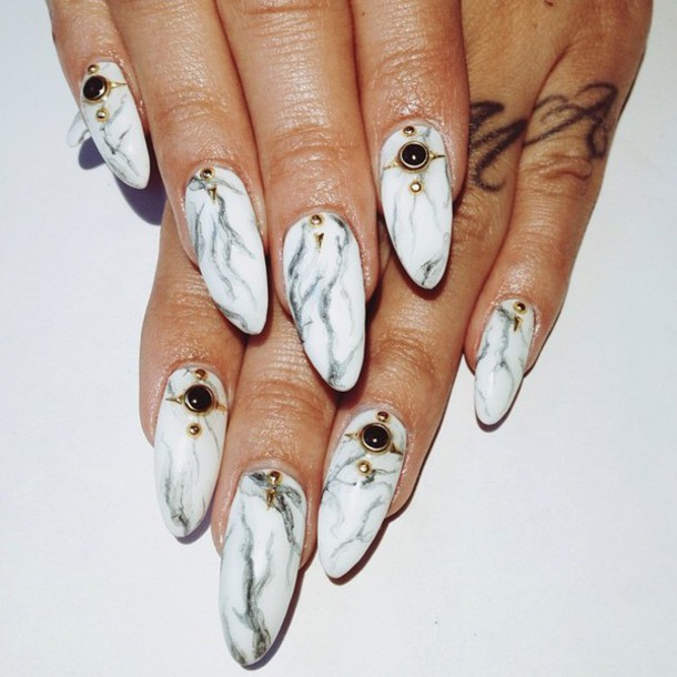Water Marble Nail Polish Brands India: Nail Polish: Marble Nail, Marble Nailpolish, Marble, Black
