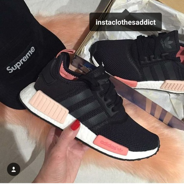 Shoes Adidas Nmd Adidas Adidas Shoes Black Pink White