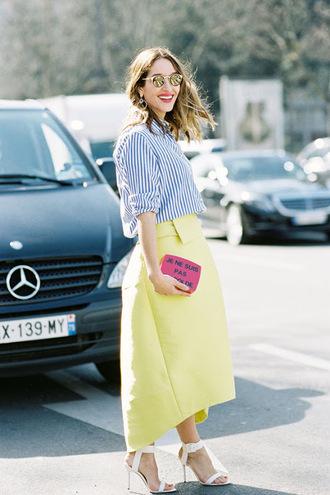 vanessa jackman blogger striped shirt