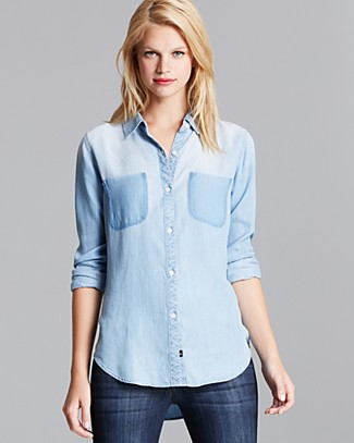 Rails Shirt - Vintage Wash Chambray Woven | Bloomingdale's