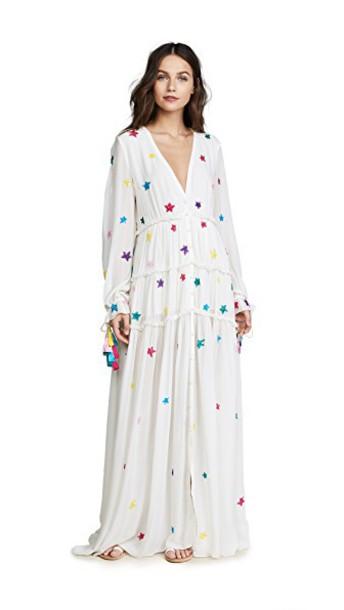ROCOCO SAND dress long dress long white