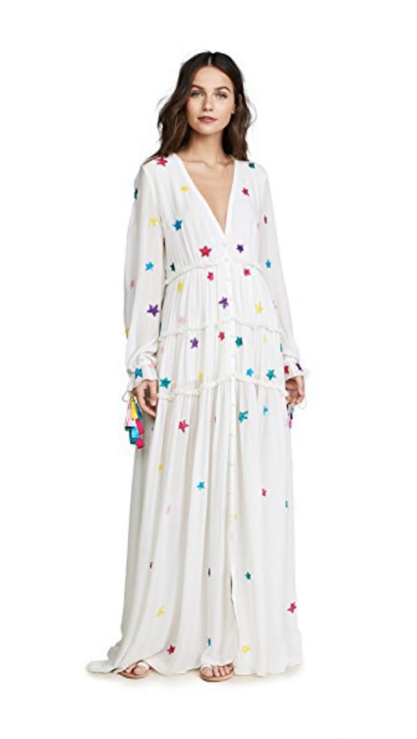 ROCOCO SAND Stellar Long Dress in white