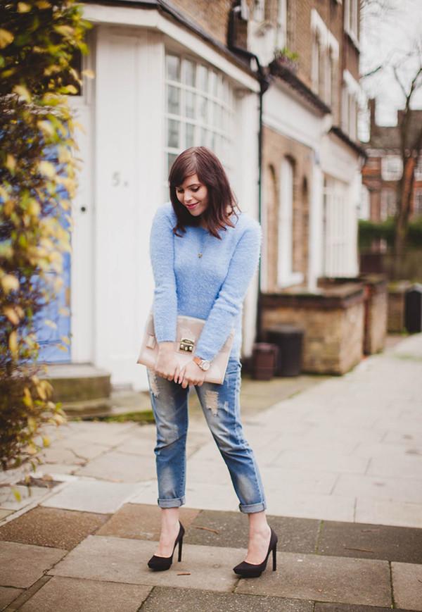 wish wish wish sweater jeans shoes bag