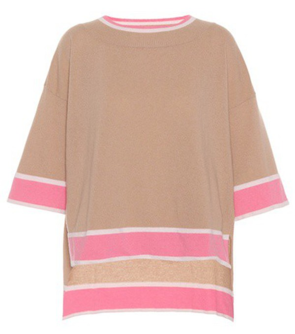 81hours Isabel wool and cashmere sweater in brown