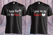 t-shirt,valentines day gift idea,romantic,valentines day,gift ideas,holiday gift,heart,heart sweater,love,lovely,love quotes,tumlr fashion,tumblr outfit,etsy,wazaaashop,special occasions,special gift,personalize,couples shirts,anniversary present,anniversary gifts for girlfriend,anniversary gift idea,boyfriend tshirt,boyfriend,girlfriend gift ideas