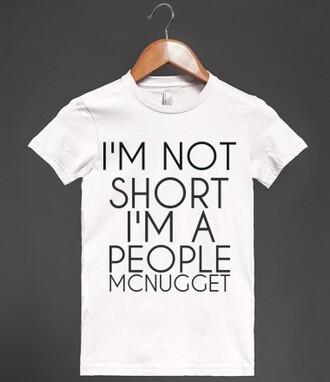 t-shirt short people short short girl shirt small funny