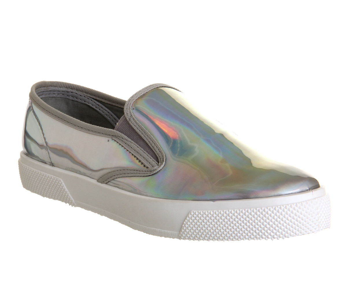 Office Kicker Slip On Holographic - Flats