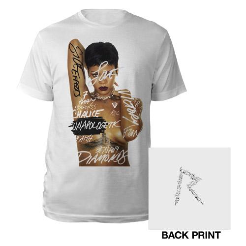 Rihanna unapologetic art t