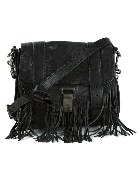 Proenza Schouler women pouch black bag
