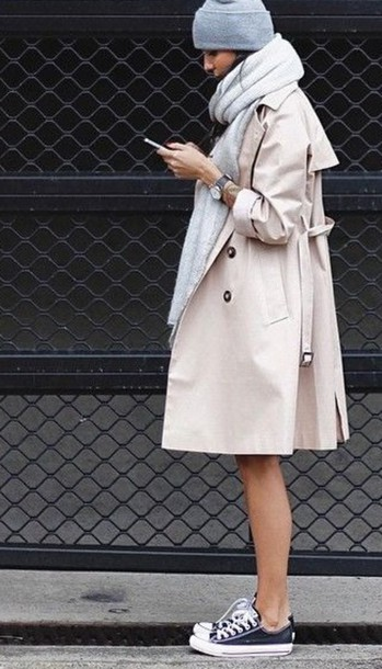 Coat Beige Trench Coat Trench Coat For Women Winter Outfits
