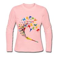 Women's Long Sleeve Jersey T-Shirt | I & R