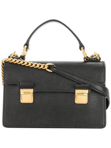Miu Miu satchel mini women bag satchel bag leather black