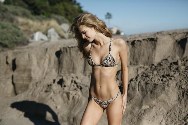 swimwear leopard print leopard bikini bikini mosmann
