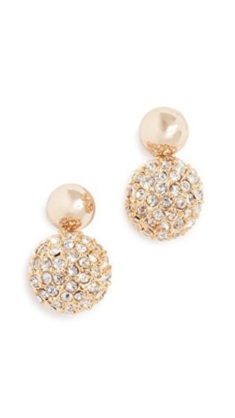 Rebecca Minkoff mini earrings gold jewels