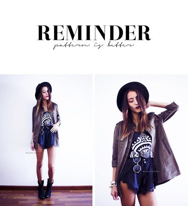 mexiquer sunglasses jacket jewels t-shirt shorts shoes