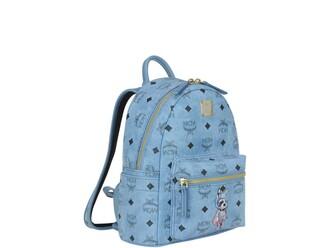 mini backpack denim bag