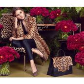 coat,shoes,olivia palermo,purse,animal print,leopard print,ballet flats,blogger,fur,leather pants,leather leggings,black bag,printed ballerinas,leopard printed ballerinas