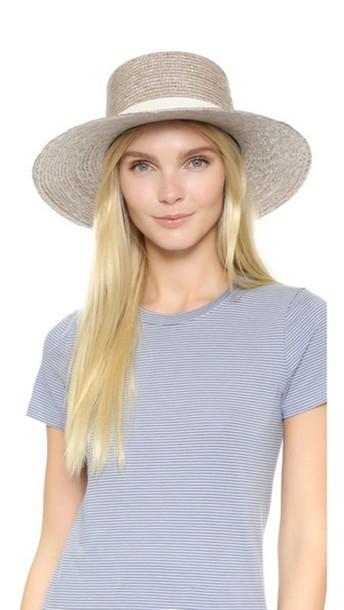 Janessa Leone Calla Balero Hat - Grey
