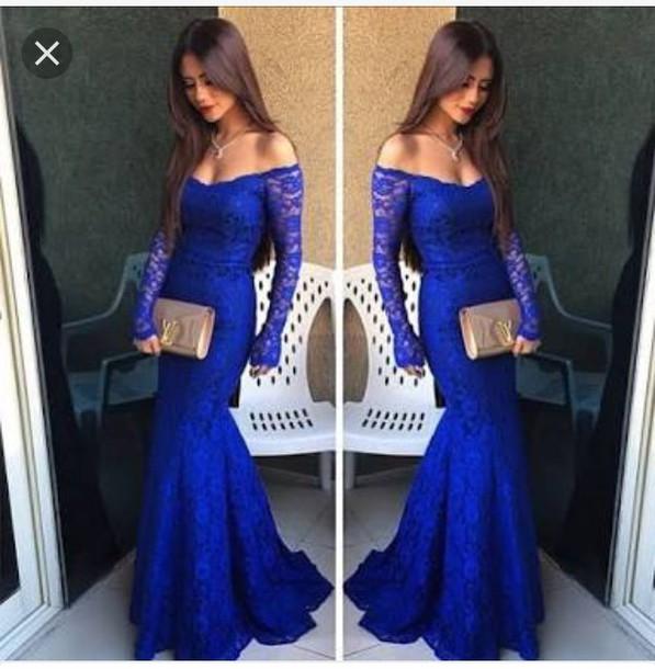 38b050e6ed dress royal blue lace dress lace evening dress blue prom dress debs dresses  prom royal blue