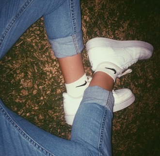 shoes white nike nike shoes casual
