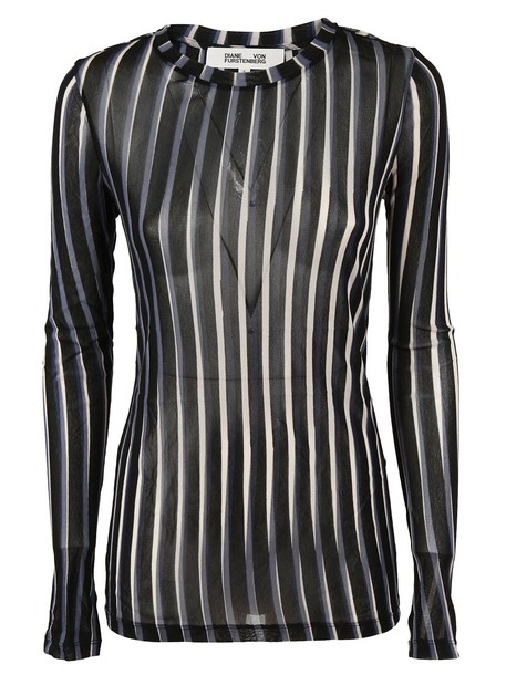 Diane Von Furstenberg pullover black sweater