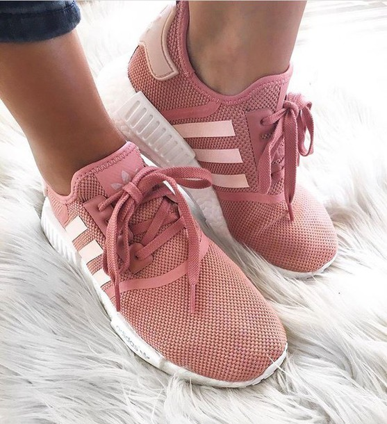 shoes adidas nmd dusty pink adidas wheretoget. Black Bedroom Furniture Sets. Home Design Ideas