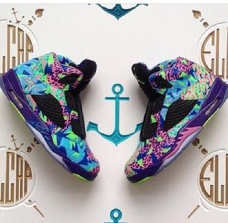 shoes high top sneakers jordans sneakers multicolor sneakers