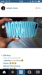phone cover,moschino,moschino iphone cover