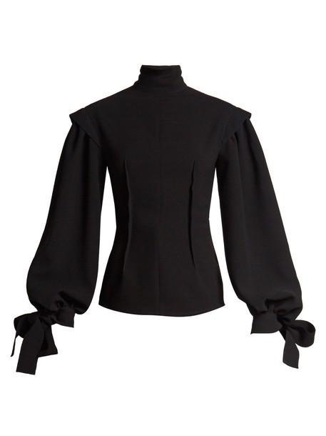 LOEWE blouse black top