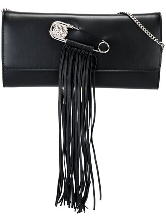 women bag clutch black