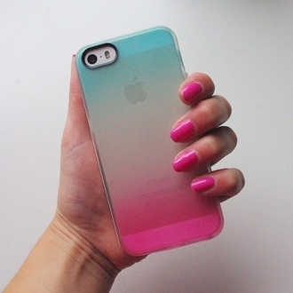 phone case see through phone case phone plastic iphone 5c covers ombre