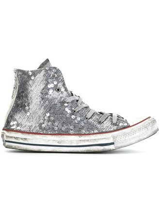 women sneakers cotton grey shoes