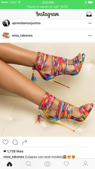 shoes colorful shoes