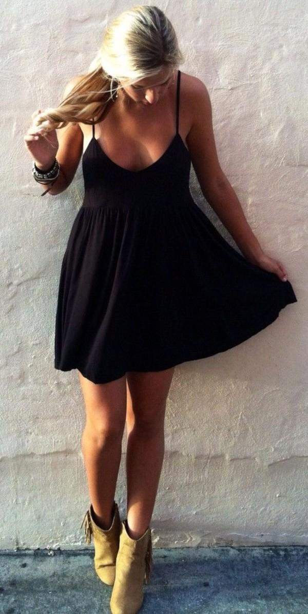 ddac291eab dress black summer dress shoes comfy chic dress.