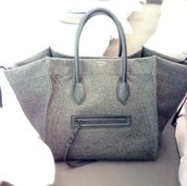 bag,grey,celine bag