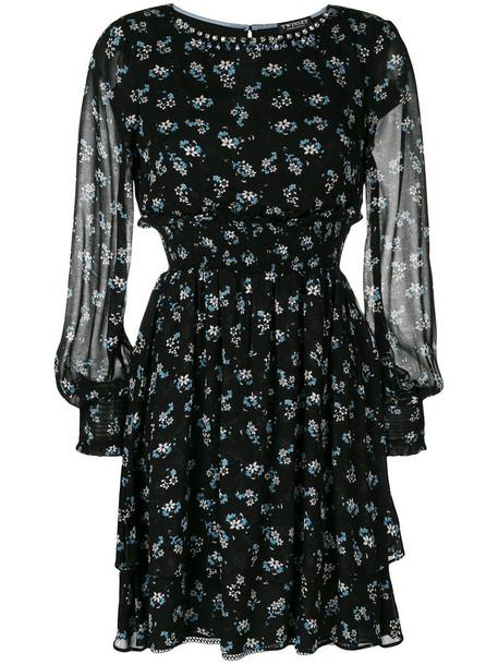 Twin-Set dress print dress women print black