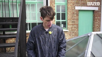 jacket polka dots cole mohr comfortable windbreaker coldweather model interview video help needed