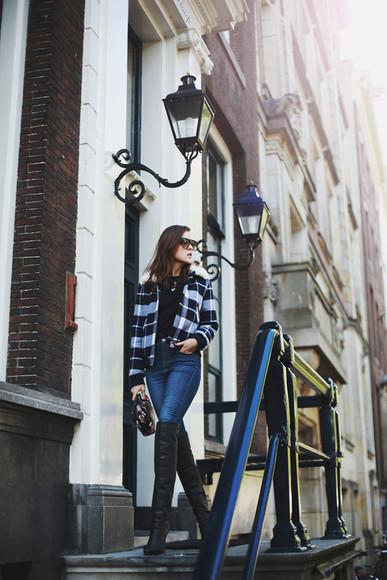 jewels style scrapbook blogger sunglasses jacket jeans