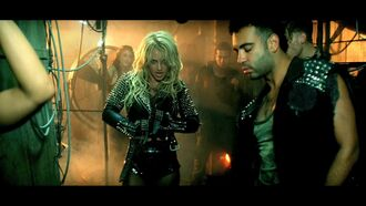 jacket britney spears leather jacket studs spikes black