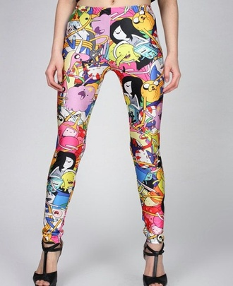 tights adventure time leggings