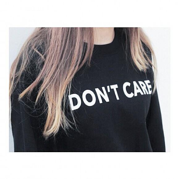 sweater black crewneck hoodie quote on it kfashion korean fashion