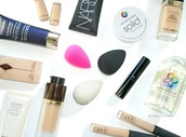 make-up,beauty blender,dolce and gabbana,dior,foundation,concealer,nars cosmetics,tom ford