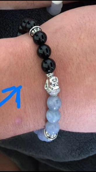 jewels buddha black silver jewlery bracelets