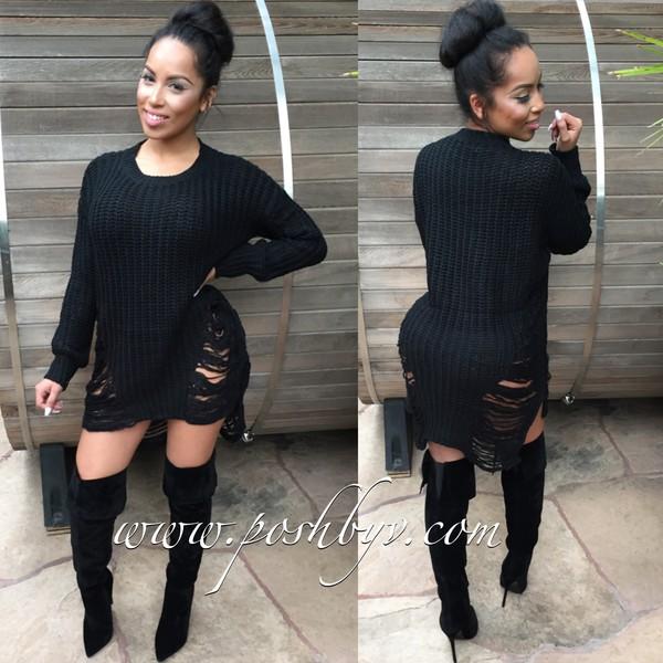 4cade55cee6 sweater black sweater dress sweater dress.